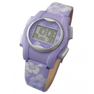 VibraLITE MINI Vibrating Watch with Purple Flower Band
