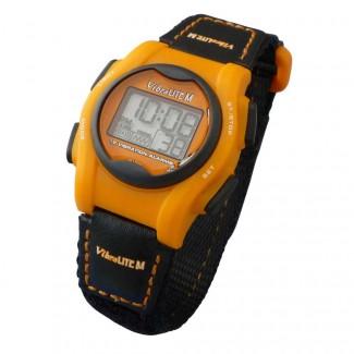 VibraLITE MINI Vibrating Watch with Orange/Black Band