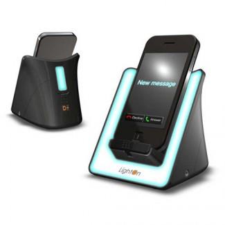 DreamZon LightOn Black Mobile Cell Phone Signaler