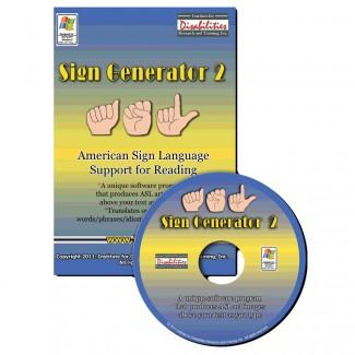 IDRT American Sign Language ASL Sign Generator 2