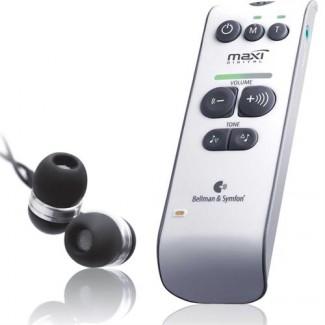 Bellman Maxi Digital Personal Amplifier with Stereo Earphone