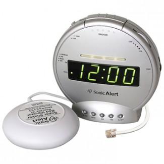 Sonic Alert SBT425SS Digital Alarm Clock w/ Bed Shaker