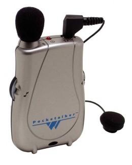 Williams Sound Pocketalker Ultra w/ Single Mini Earbud Assistive Listening Device