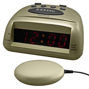 Global 360 Alarm Clock Champagne