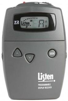 Listen Technologies LR-500 Portable Programmable FM Receiver