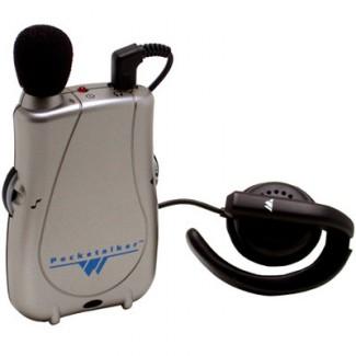 Williams Sound Pocketalker Ultra PKTD1E08 w/ Wide Range Earphone Assitive Listening Device