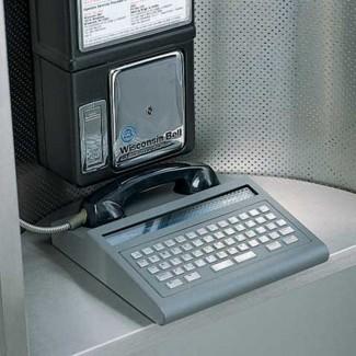 Ultratec ST120 Shelf-Top Public Payphone TTY
