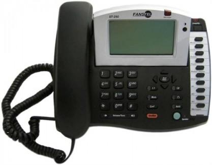 Fanstel ST250 Amplified Speaker Business 2-Line Phone