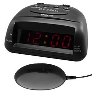 Global 360 Alarm Clock Black