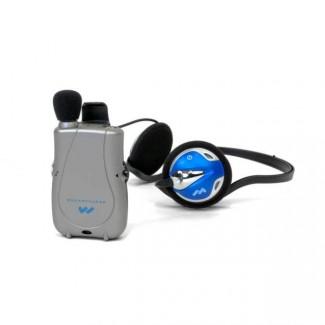 Williams Sound Pocketalker Ultra w/ Rear-Wear Headphone Assistive Listening  Device